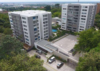 Tikkal apartamentos Conjunto cerrado