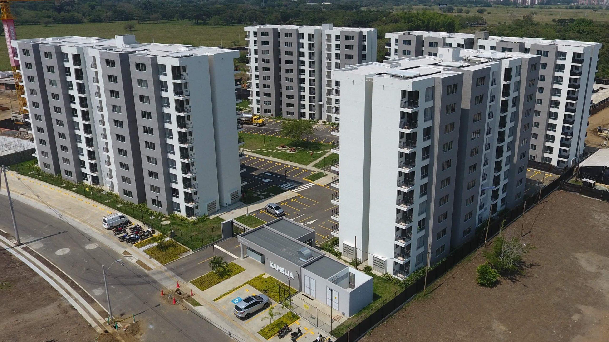Kamelia apartamentos en Conjunto residencial - Hacienda Kachipay