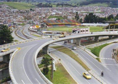Intersección Vial Puente Monumento al Campesino