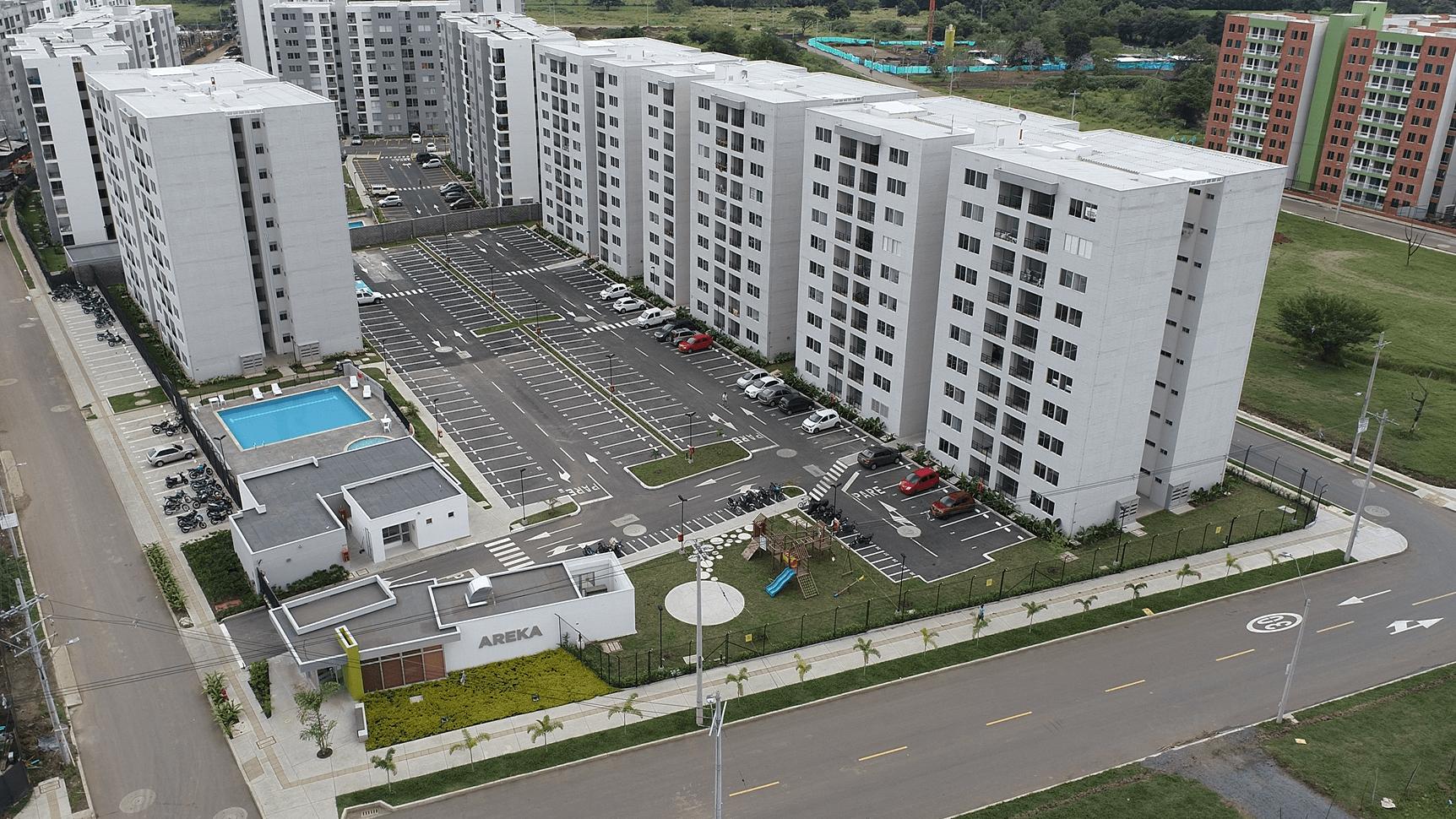 Areka apartamentos en Conjunto residencial - Hacienda Kachipay