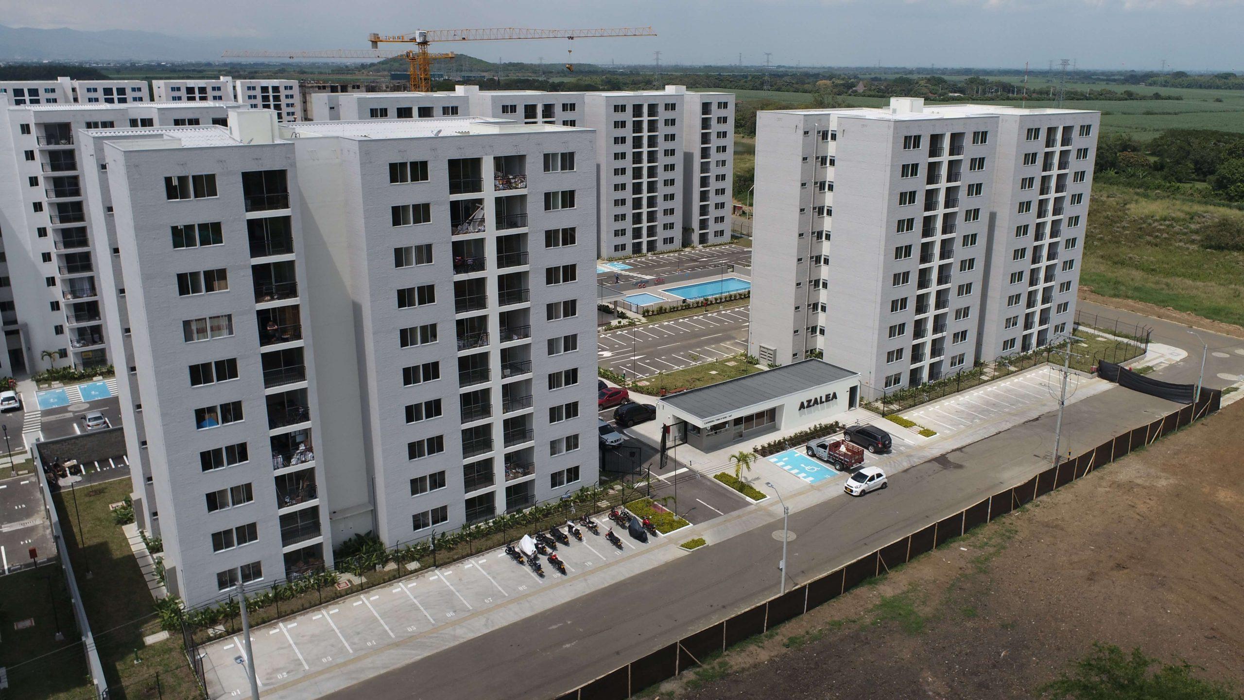 Azalea apartamentos en Conjunto residencial - Hacienda Kachipay
