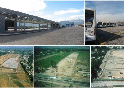 Subus Chile 4 patios de operación