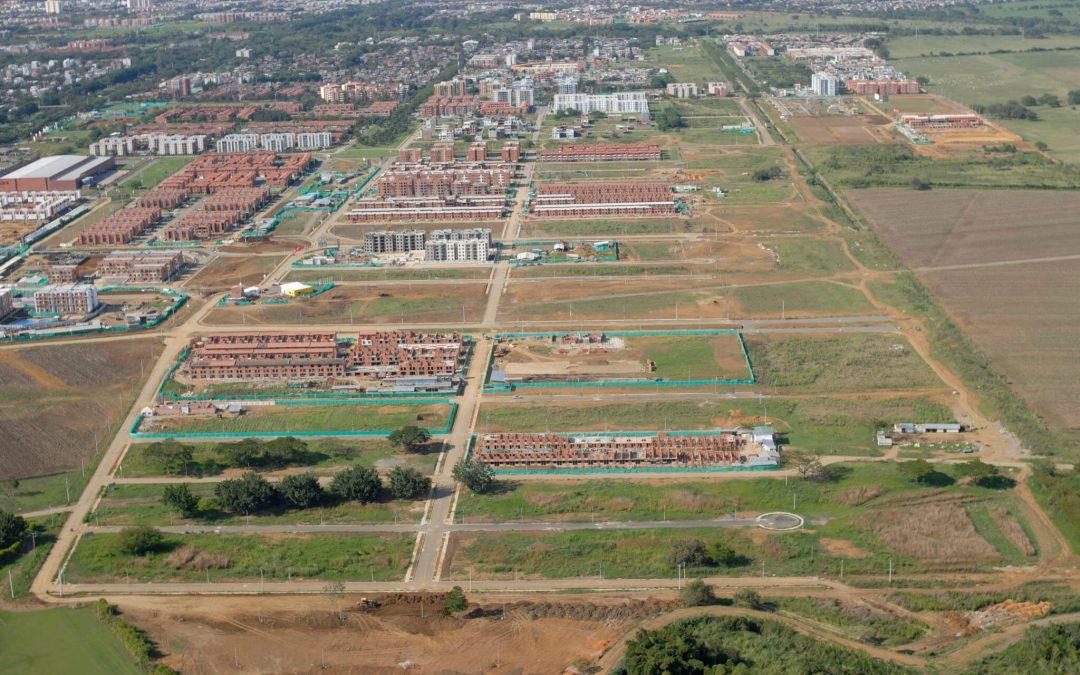 Urbanismo de los lotes sector Lili